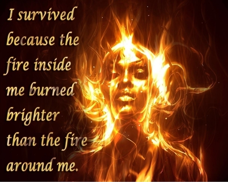 Fire Burns Brighter - Inspiration - authorleahplozano | ello