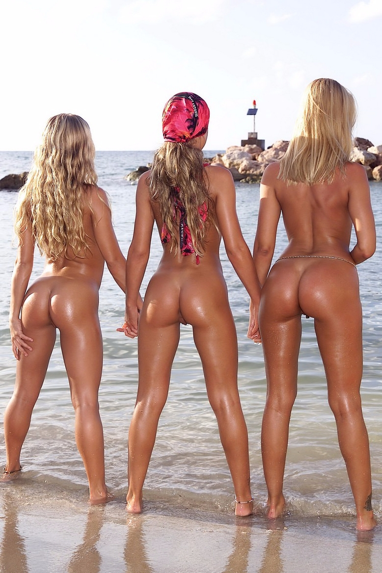 naked, ass, beach, blonde, nsfw - guermo | ello
