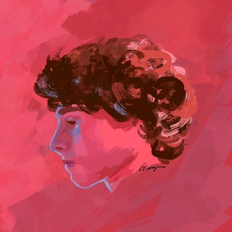 Wyatt Oleff portrait - digitalpainting - n0tcool | ello