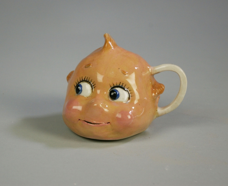 Andrew Dubach Ceramic Kewpie Mu - modernism_is_crap | ello