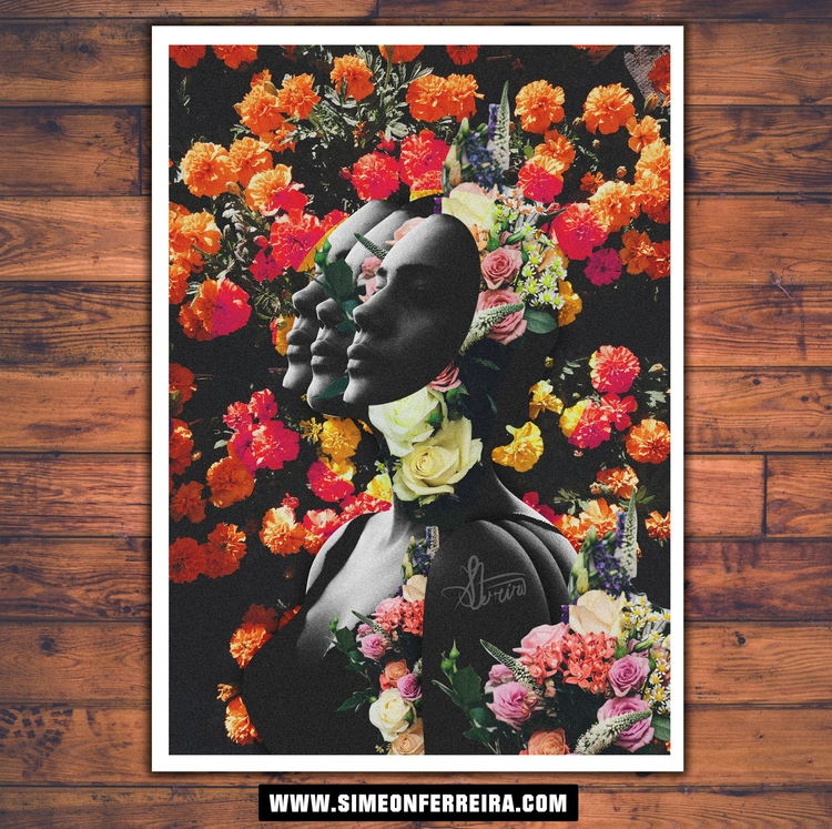 Flower Night - art, limitededition - simeonf | ello