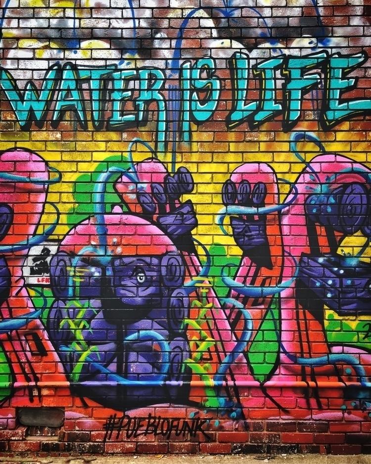 Water Life art downtown LFK. iP - dennyweinmann | ello