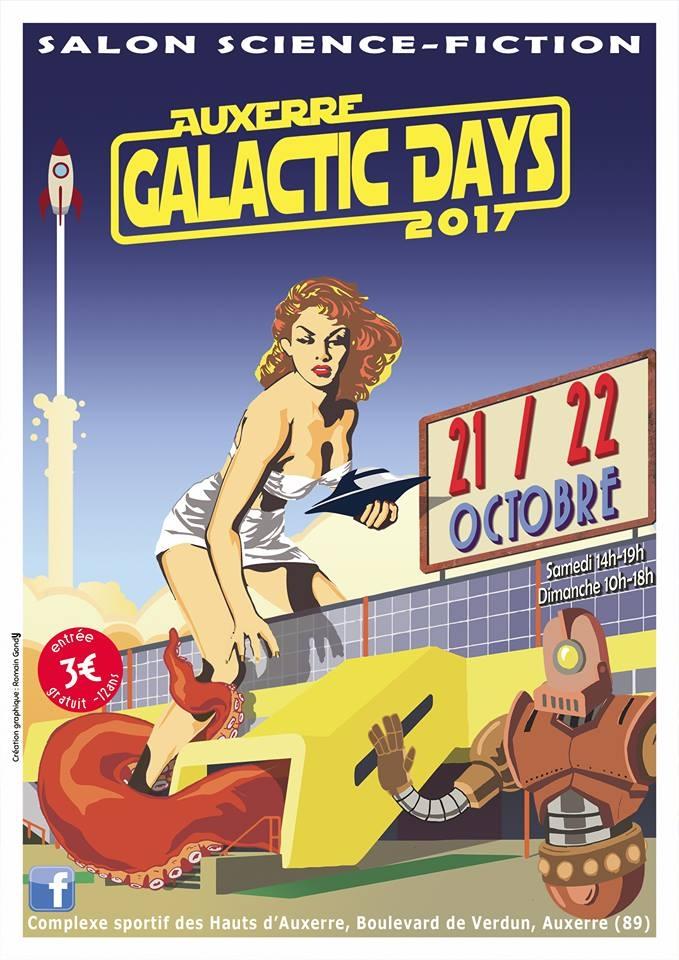 Affiche des Auxerre Galactic Da - romgondy | ello