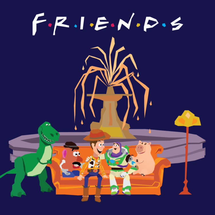 Friends Toy Story. Forgot put s - mickeygogo | ello