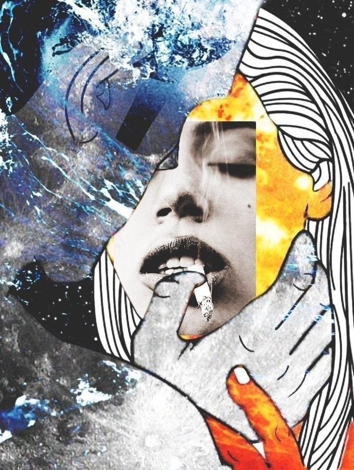 collage, art, ellocollage - pourpose | ello