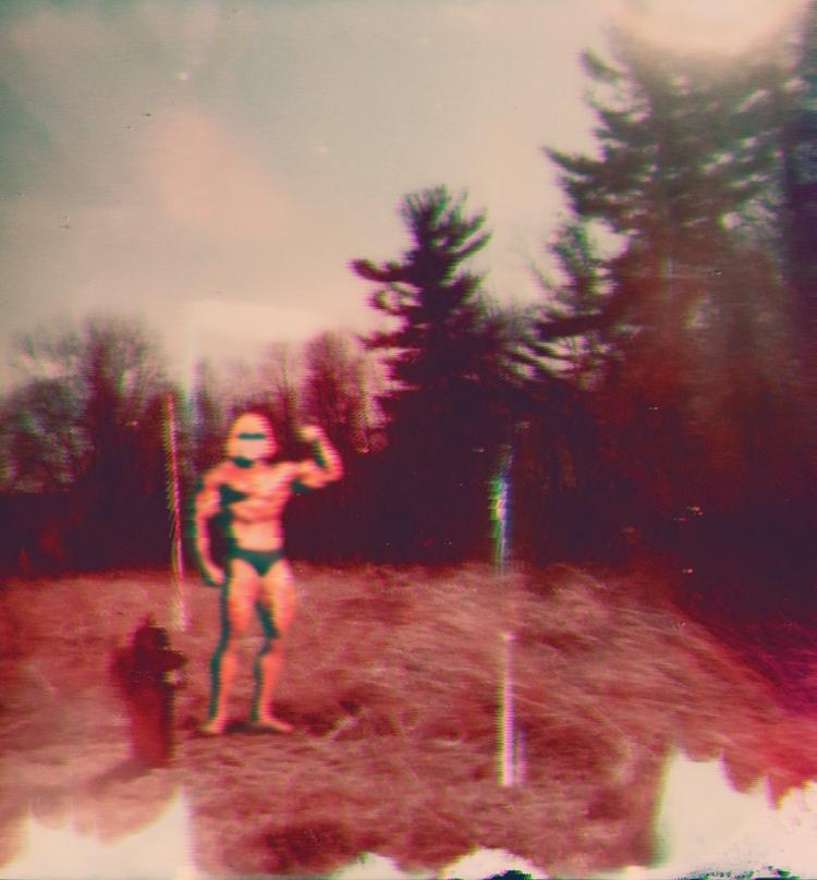 Flex (glitch) - Kalamarz - art, collage - jkalamarz | ello