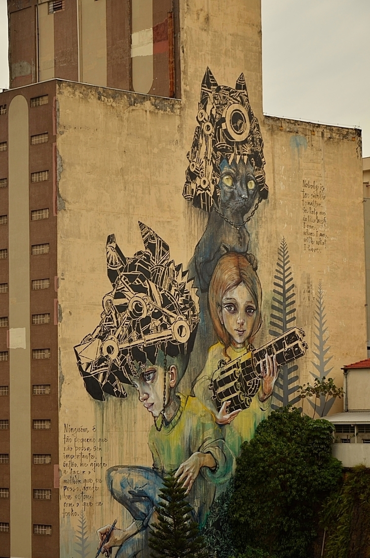 illustration urban São Paulo SP - olliveirageane   ello