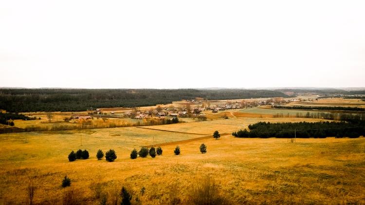 field, horizon, nature, lithuania - beheroght | ello