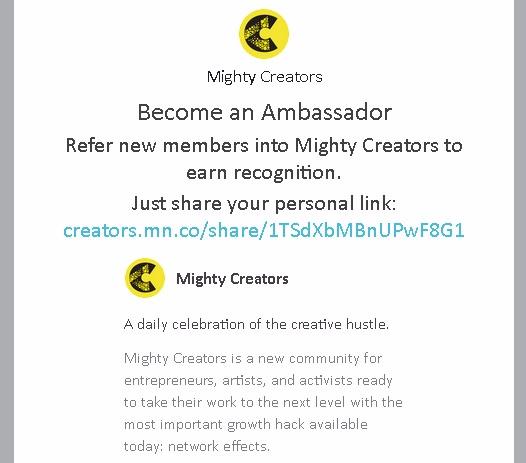 joined Mighty Creators network  - jim_plaxco   ello