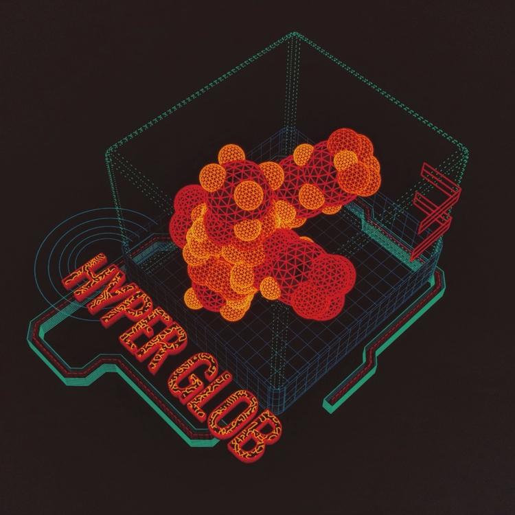 Hyper Glob Droplet  - hologram, ui - mjmurdock | ello