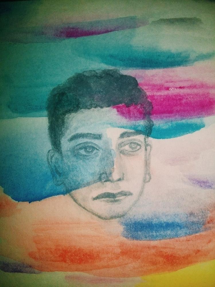 watercolor, vsco, art, painting - daniadoesitmatter | ello