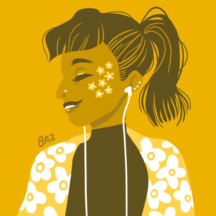 Huevember day 4 - yellow, digitalart - stbaz | ello