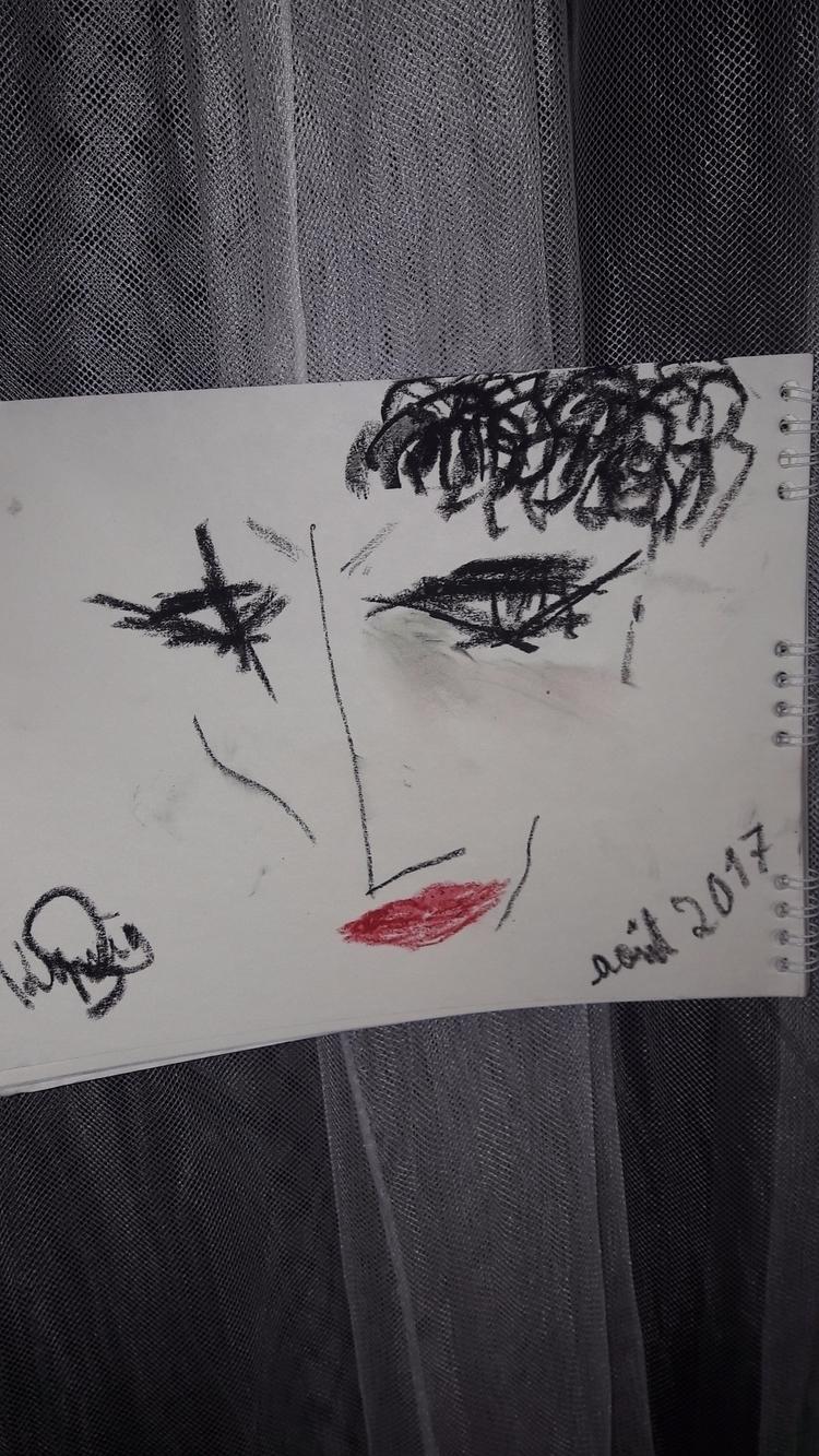il est tard - drawing, art, draw - kymia | ello