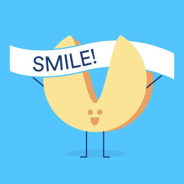 Smile, phone; helps feel person - mdiperidesign | ello