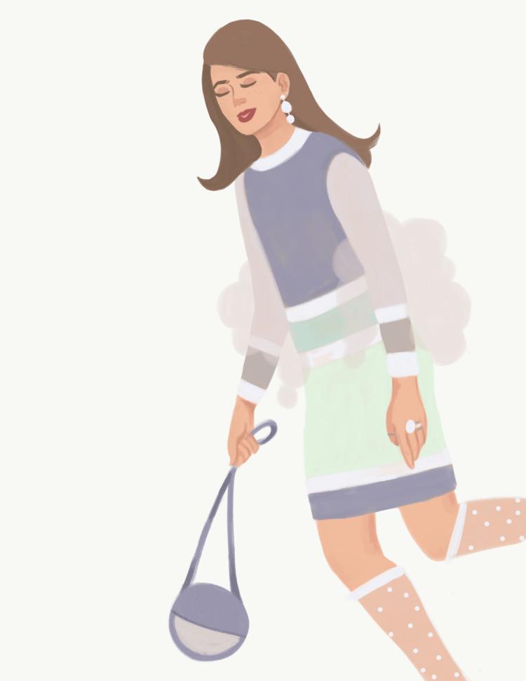 winter, fashion, illustration - cariguevara | ello