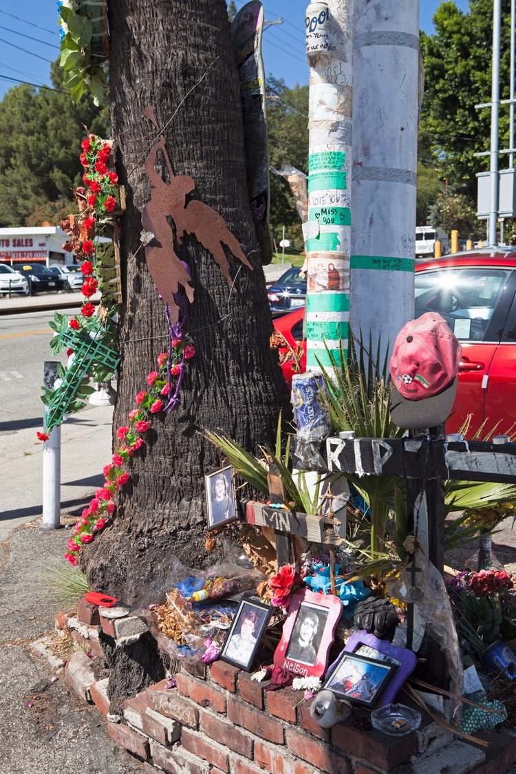 Roadside Shrine, Foothill Blvd - odouglas | ello