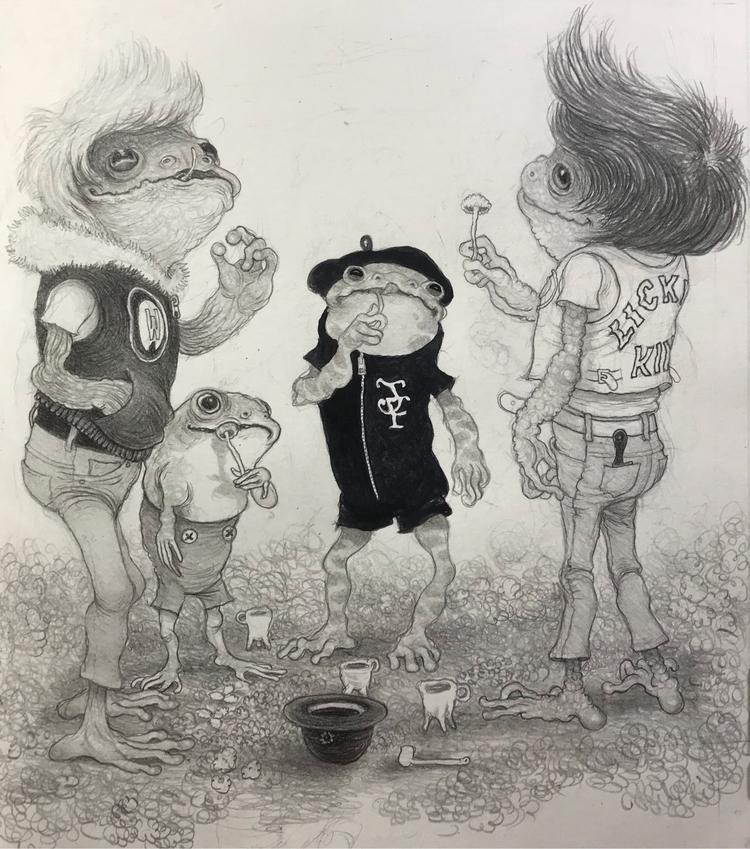 John Mushroom Club Proper~ grap - _mattgordon_   ello