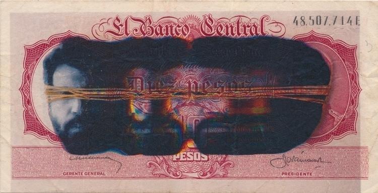 bills - 5, laser, print, 108printedbillsseries - josephsohn | ello