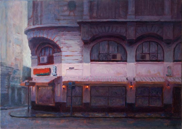 Americana Oil canvas. 70x50 cm - agustinp | ello
