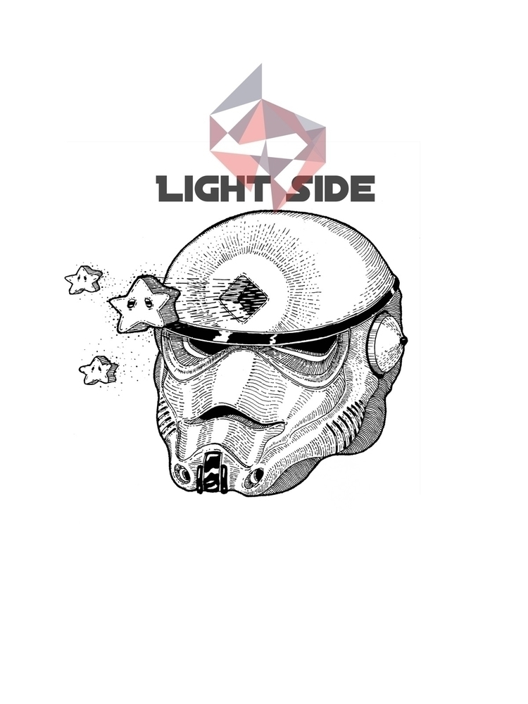 """Light Side"" prints - starwarslovers - trinkl 