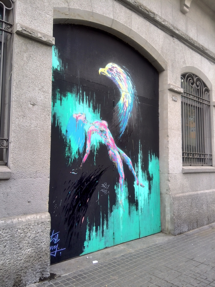 streetart, barcelona, bcn - this_game_has_no_name | ello