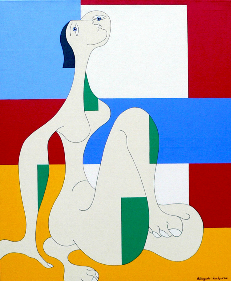 Message website: work presents  - hildegardehandsaeme | ello