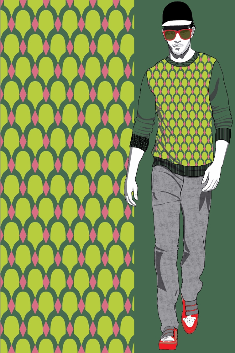 60s Pattern Fabric Store Sale I - superhika | ello