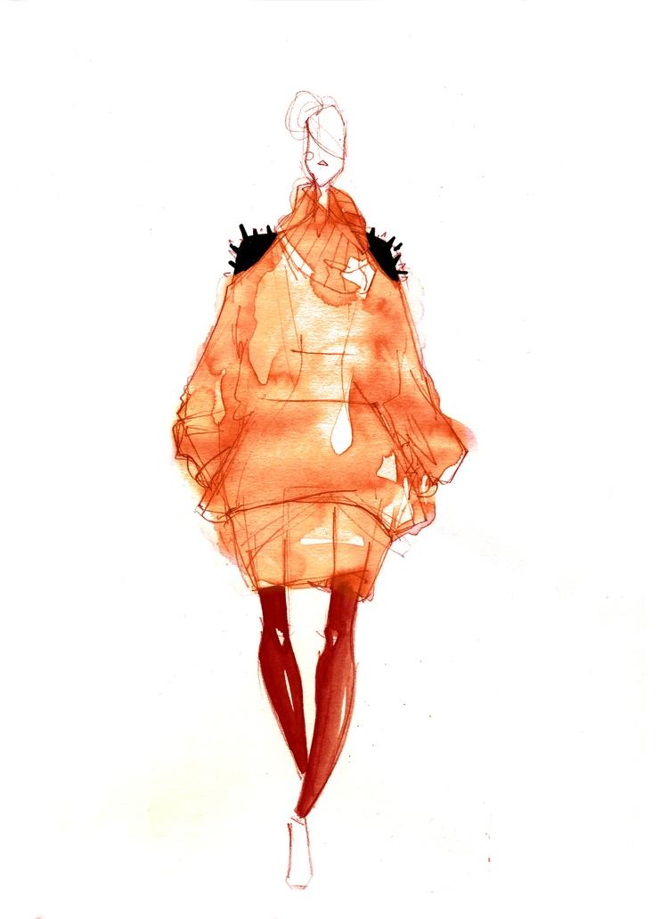 winter babe 02 / illustration w - naita | ello