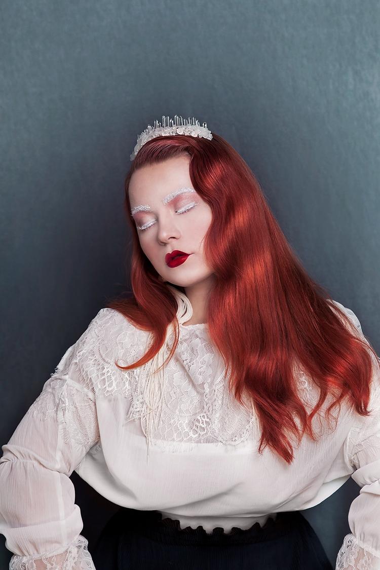 """Crystal Priestess"" — Photograp - darkbeautymag | ello"