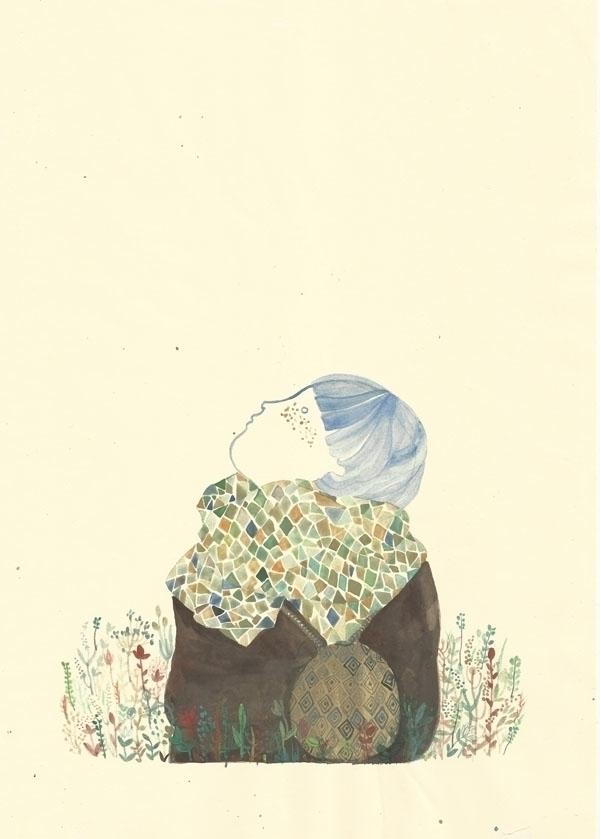 paper, watercolor, drawing, illustration - spoto | ello