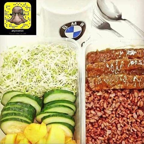 Plate Challenge - RedRice, Meatloaf - vicsimon | ello