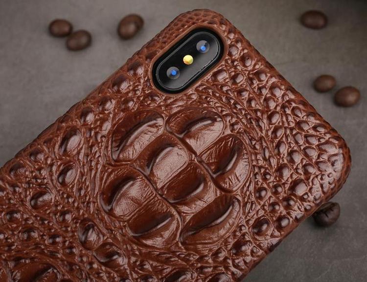 Genuine Leather 3D iPhone Cover - gadgetflow | ello