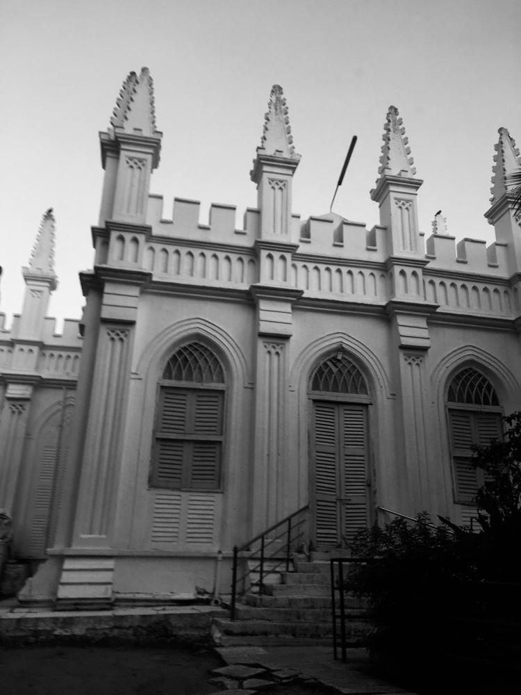Beautiful church. locals visite - vamsikambam   ello
