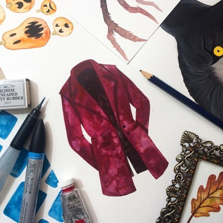 jumble artwork desk today, feat - zowiegreen | ello
