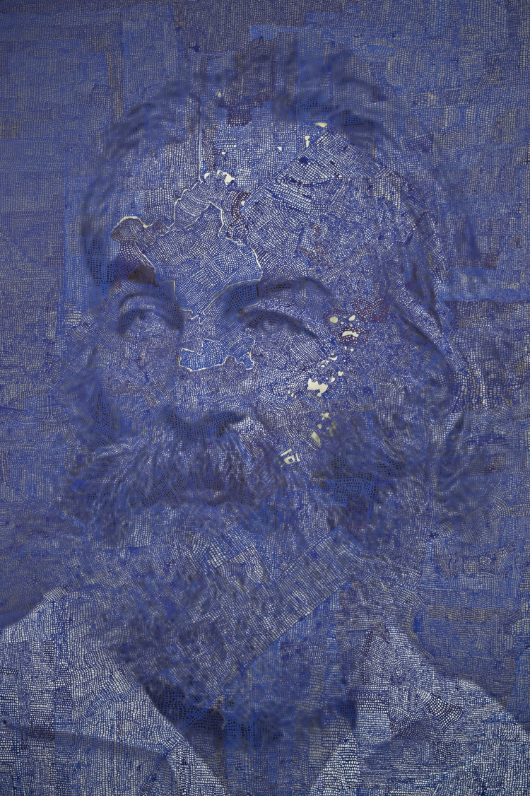 Walt Whitman. Hand painted arch - arielshallit | ello