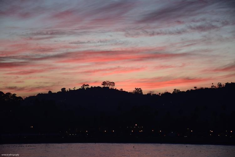 Santa Barbara dusk - nonnox8 | ello
