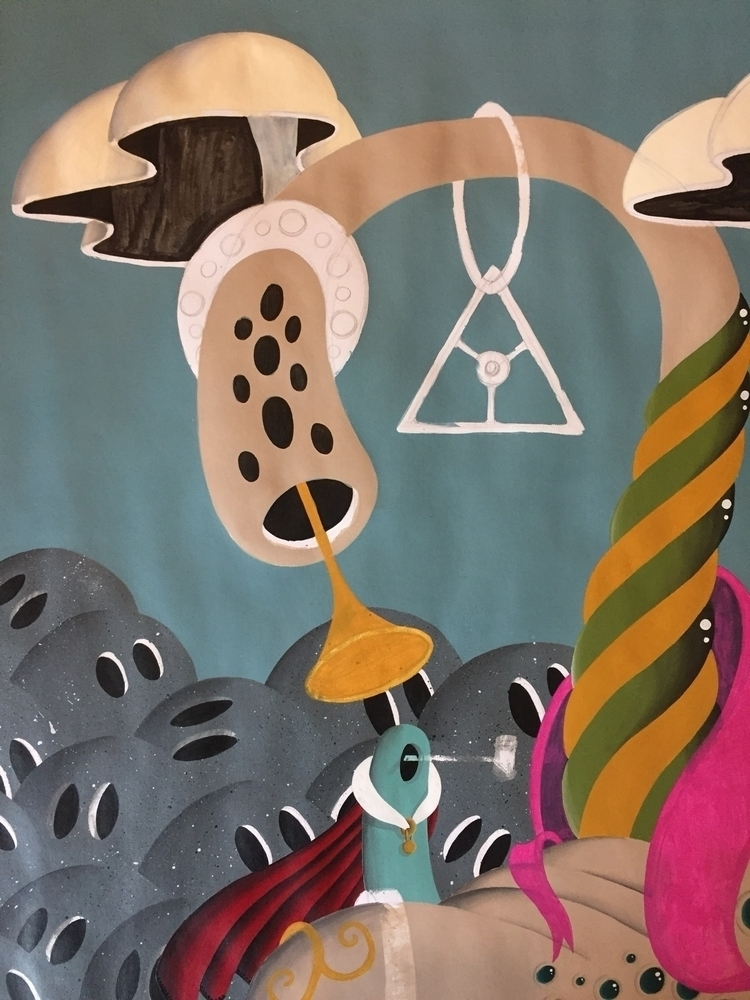 progress, art, acrylic, painting - jimmy-p | ello
