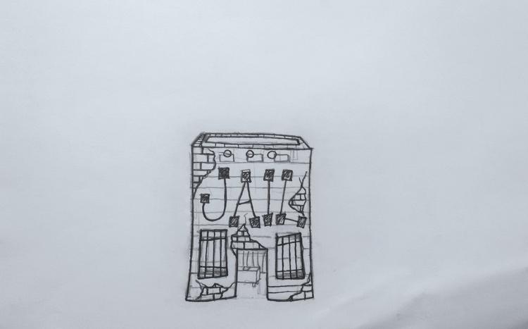 drawing, sketch, pencil, cartoon - kut-n-paste   ello