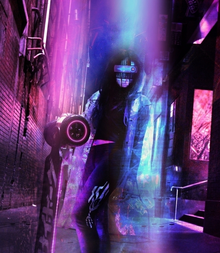 Urban LED maker longboard frien - cybercitypunk | ello