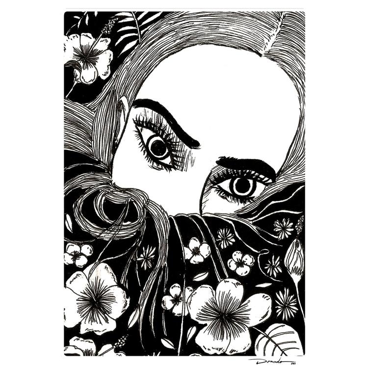 coming.:skull: . Follow drawing - oscar_donado | ello
