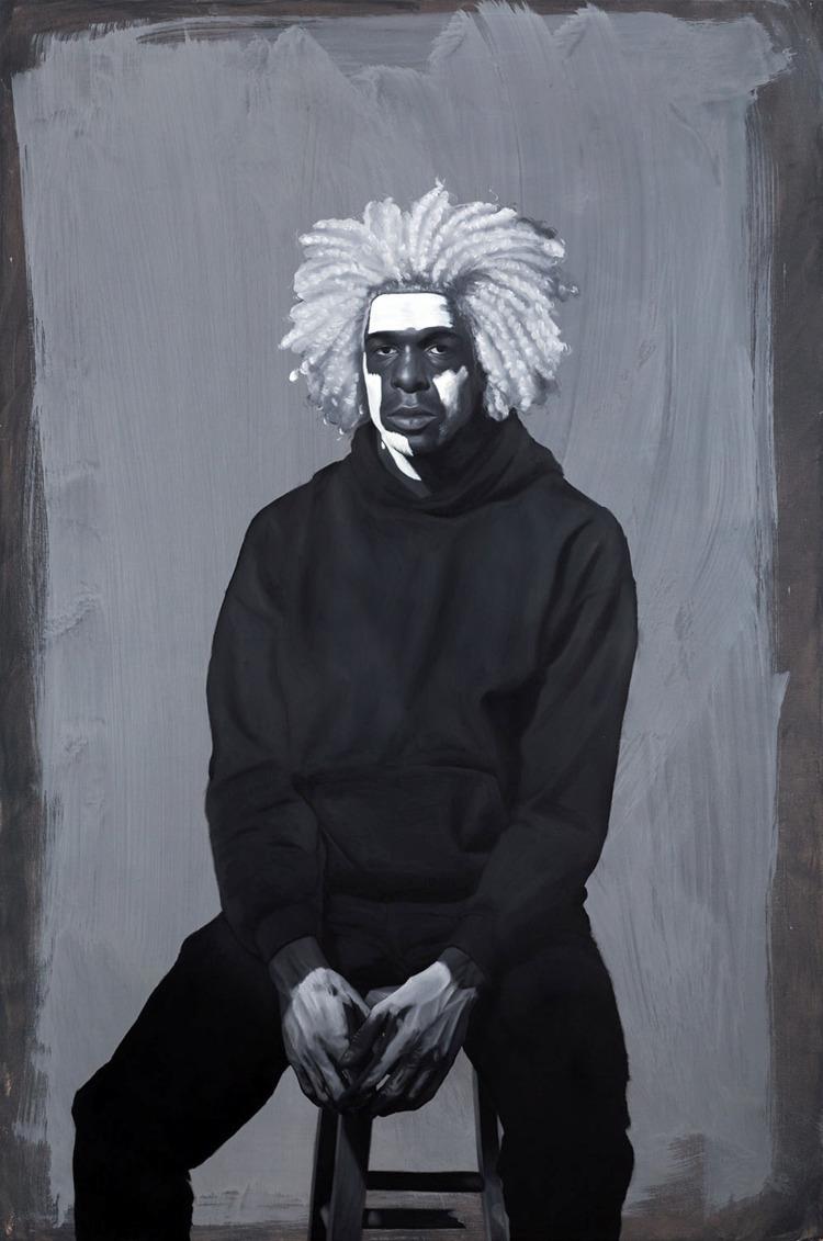 Kohshin Finley Painting Headlin - blackartmatters | ello