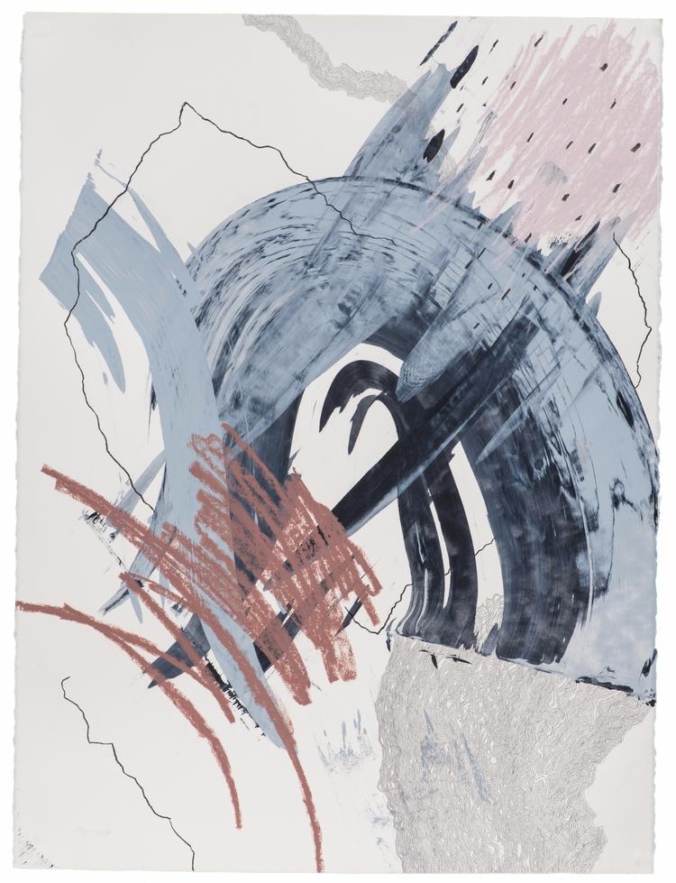 Chi-chi-chi 2017 Acrylic, graph - claibuco | ello