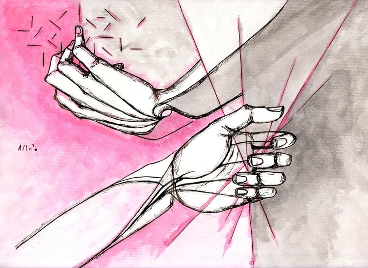 hands story | Viajo porque prec - amandaobara | ello