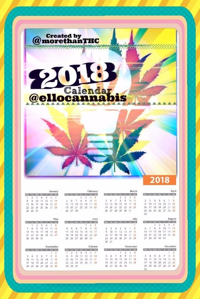 custom original calendar design - morethanthc | ello