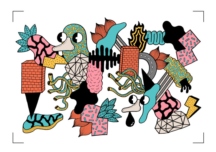 illustration, drawing, artwork - douglascavanna | ello