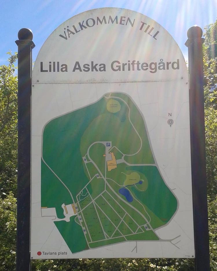 Hitta rätt på Lilla Aska Grifte - skogskyrkogardar | ello