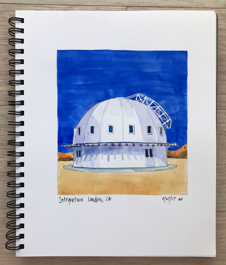 sound bath? integratron Landers - angela_oliver_art | ello
