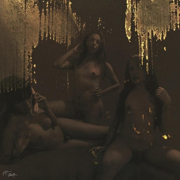 Golden triangle Album Cover Ser - mattwillisjones | ello