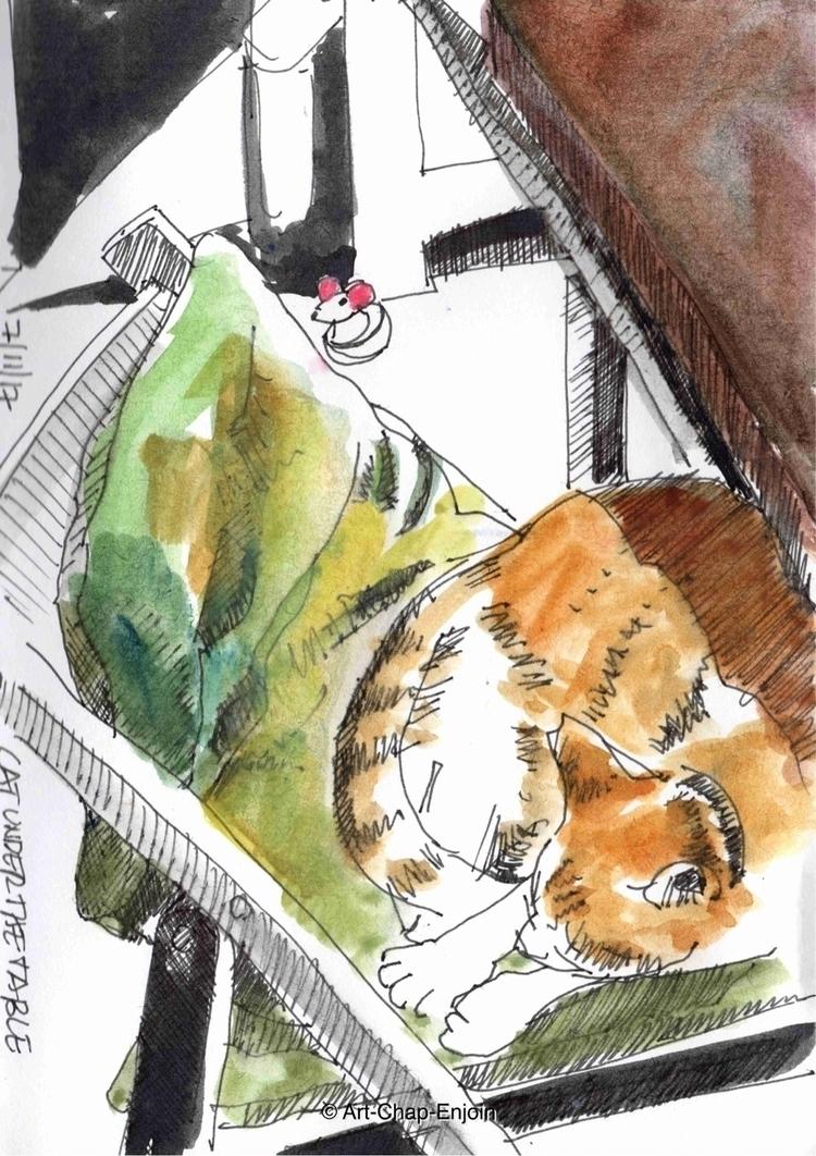 - Cat table bit overwhelmed pre - artchapenjoin | ello