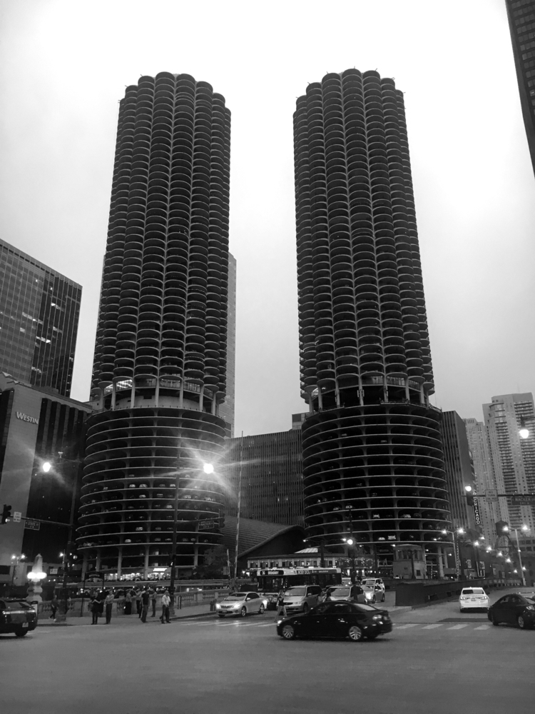 Marina Towers, Chicago, 2017 - hueless - wieland | ello